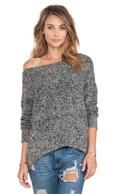 Soft Joie Atticus Sweater in Caviar