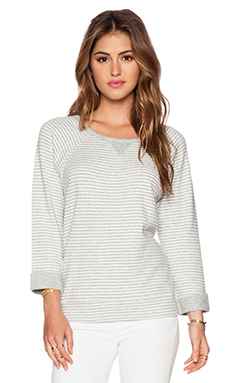Soft Joie Altair Sweater in Heather Grey & Porcelain