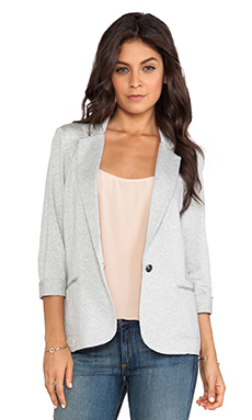 Soft Joie Trevor Blazer in Heather Grey