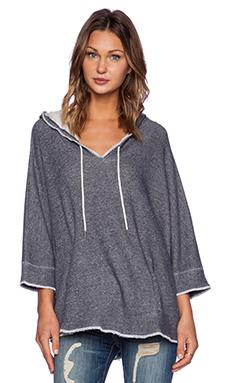 Soft Joie Tula Sweatshirt in Heather Peacoat