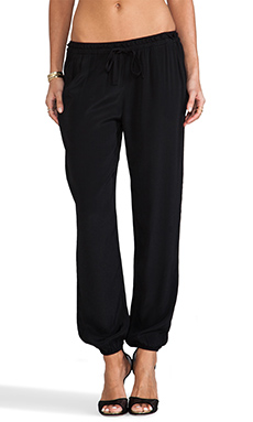 Soft Joie Ellena Pant in Caviar