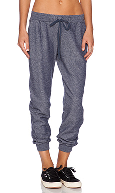 Soft Joie Grant Sweatpant in Peacoat Heather