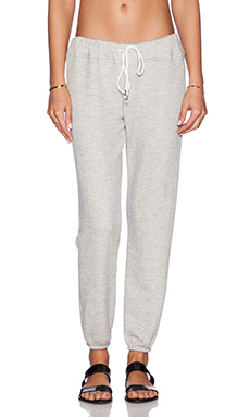 Soft Joie Nevaeh Sweatpant in Heather Grey