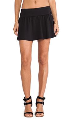 Soft Joie Kaydree Ponte Skirt in Caviar