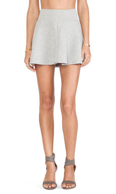 Soft Joie Kaydree B Skirt in Heather Grey