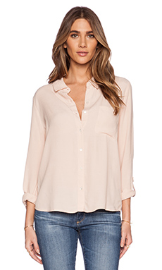 Soft Joie Annabella Button Up in Nude
