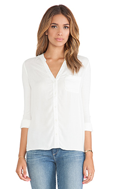 Soft Joie Evaine Top in Porcelain