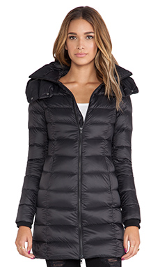 Soia & Kyo Kisha Lightweight Down Jacket in Black