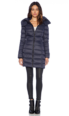 Soia & Kyo Kisha Lightweight Down Jacket in Navy