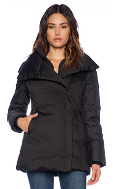Soia & Kyo Elsie Classic Down Coat in Black