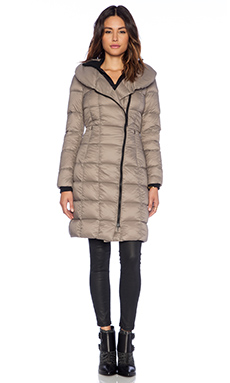 Soia & Kyo May Lightweight Down Jacket in Taupe