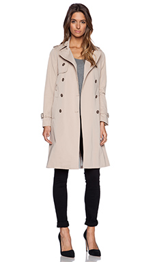 Soia & Kyo Terence Classic Trench Coat in Sand