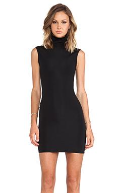 SOLACE London Charo Mini Dress in Black