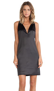 SOLACE London Rolson Mini Dress in Black