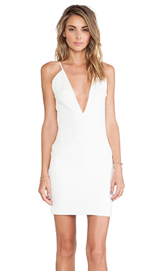 SOLACE London Kimbi Mini Dress in Cream