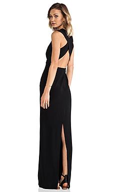 SOLACE London Casa Maxi Dress in Black