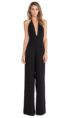 SOLACE London Rossi Jumpsuit in Black
