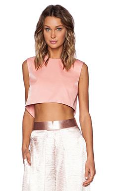 SOLACE London Ciri Top in Pink