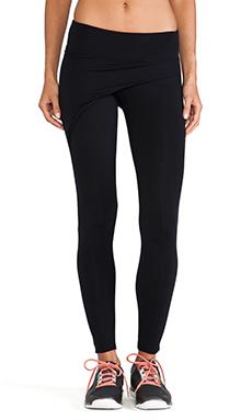 So Low Wrap Front Legging in Black