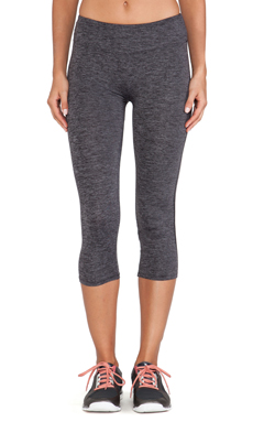 So Low Crop Legging in Ash