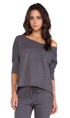 So Low Dolman Tee in Carbon
