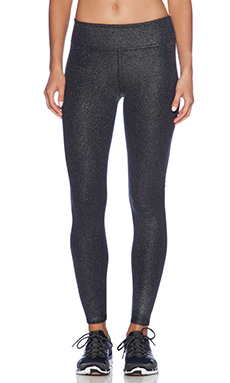 SOLOW Coated High Impact Legging in Black