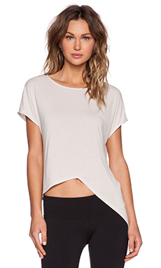SOLOW Asymmetric Tee in Bone
