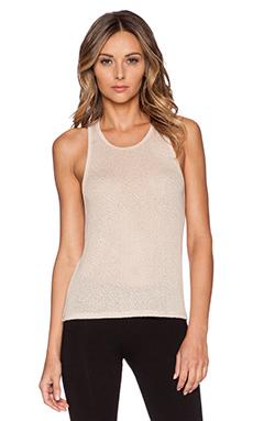 SOLOW Plush Knit Tank in Blush