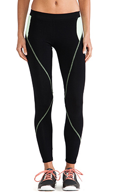 SOLOW Legging in Black & Mojito