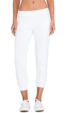 SOLOW Slouchy Pant in White