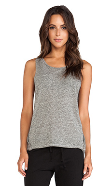 So Low Snaps Muscle Tee in Opal