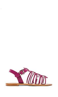 Sol Sana Dolly Sandal in Fuchsia