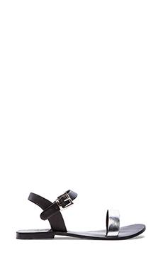Sol Sana Rebel II Sandal in Black & Silver