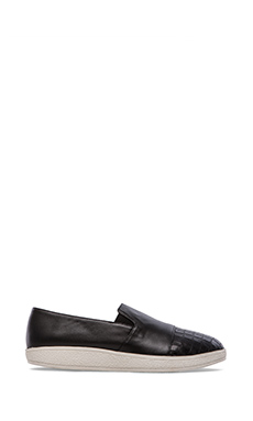 Sol Sana Tab Slip On in Black