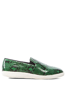 Sol Sana Tab Loafer II in Green Python