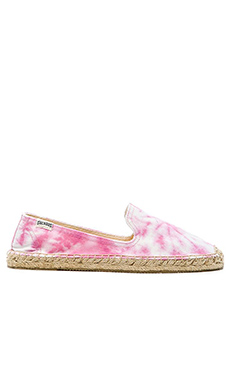 Soludos Tie Dye Espadrille in Pink