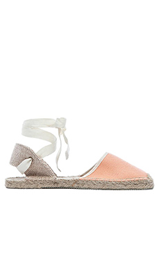 Soludos Classic Sandal in Peach
