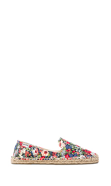 Soludos Smoking Slipper in Garden Print