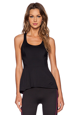 SPANX Peplum Tank in Black