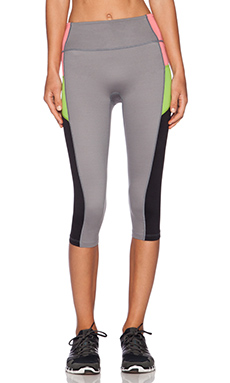 SPANX Shaping Compression Pant in Cool Gray & Black