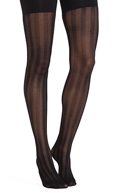 SPANX Lined Up Tights in Black