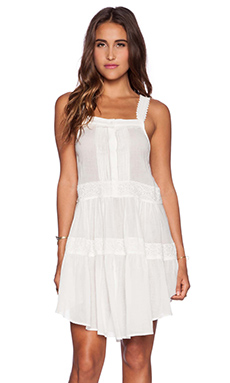 Spell & The Gypsy Collective Savannah Sun Dress in Off White