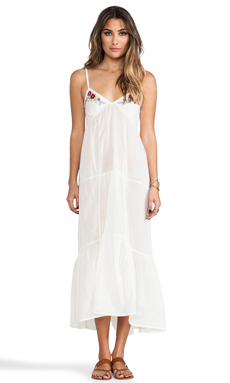 Spell & The Gypsy Collective Island Dress in off White