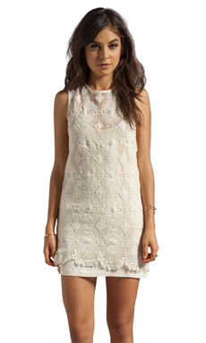Spell & The Gypsy Collective Lola Dress in Off Nude