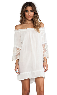 Spell & The Gypsy Collective Prarie Dress in Ivory