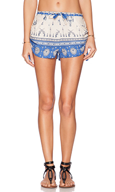 Spell & The Gypsy Collective Coyote Shorts in Royal Blue