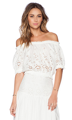 Spell & The Gypsy Collective Bambi Top in White