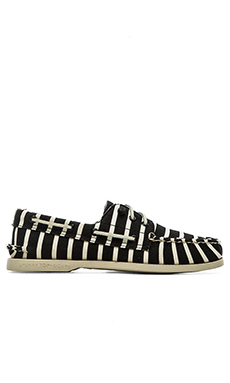 Sperry Top-Sider x Band of Outsiders A/O 3 Eye in Black White