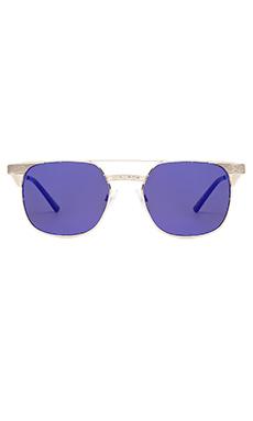 Spitfire Lo Fi in Silver & Blue Mirror
