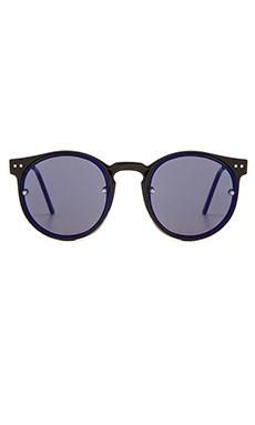 Spitfire Post Punk in Black & Blue Mirror